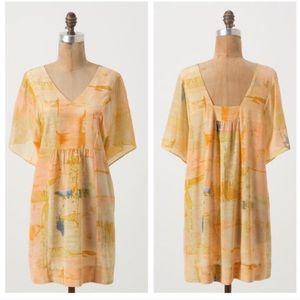 Anthropologie Maeve Painted Ume Tunic Dress 4